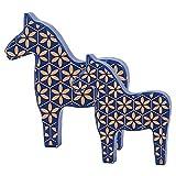 caballo madera decoración