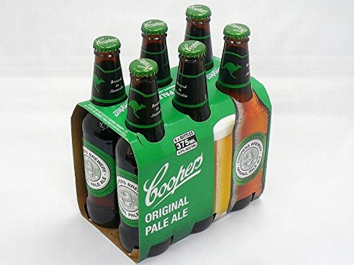 同意奨学金牧草地オーストラリアNo1 クラフトビール クーパーズ375ml×6本パック Coopers 6px355ml (オリジナルペールエール)