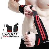 WeyTy Handgelenk Bandagen, 2-er Handgelenkstütze Wrist Wraps Kraftsport, Bodybuilding,...