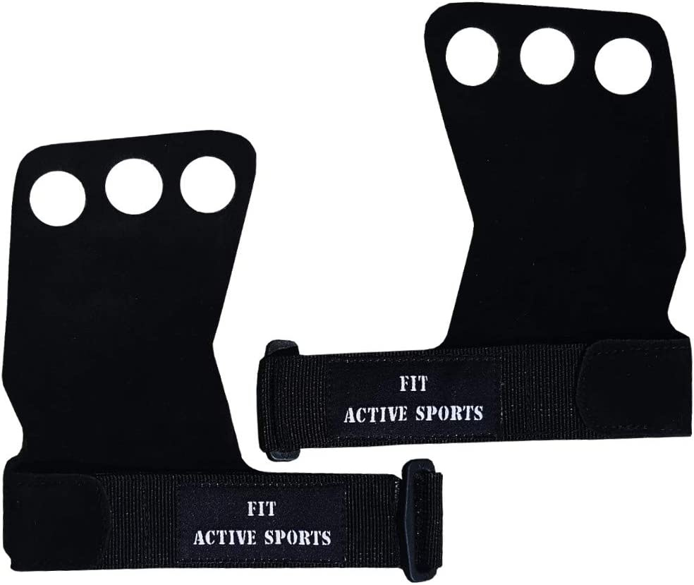 Fit Active Sports Gymnastics Grips Weight Lifting Gloves. Use fo