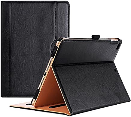 ProCase iPad 9.7 Case 2018/2017 iPad Case - Stand Folio Cover Case for Apple iPad 9.7 inch, Also Fit iPad Air 2 / iPad Air -Black