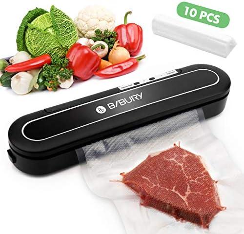 Vacuum Sealer Machine BIBURY Automatic Compact Design Food Sealer Machine for Food Preservation product image
