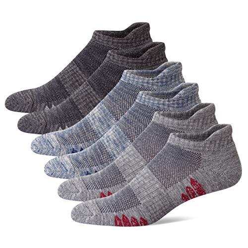 U&i Men's Athletic Exercise Socks