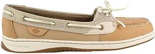orden en línea Sperry Sperry Sperry Wohombres, Angelfish Boat zapatos Metallic Linen 7.5 M  echa un vistazo a los más baratos