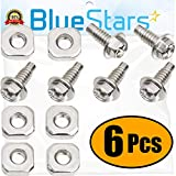 Ultra Durable 279393 Dryer Screw Replacement Part by Blue Stars - Exact Fit for Whirlpool Kenmore Dryers -...