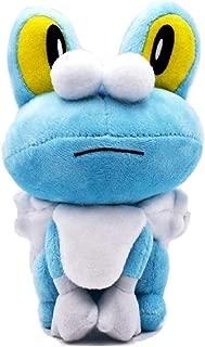 17-24cm Doll Plush Poke Chespin Fennekin Froakie Anime Plush Toy Peluche GO Soft Stuffed Doll (Froakie)