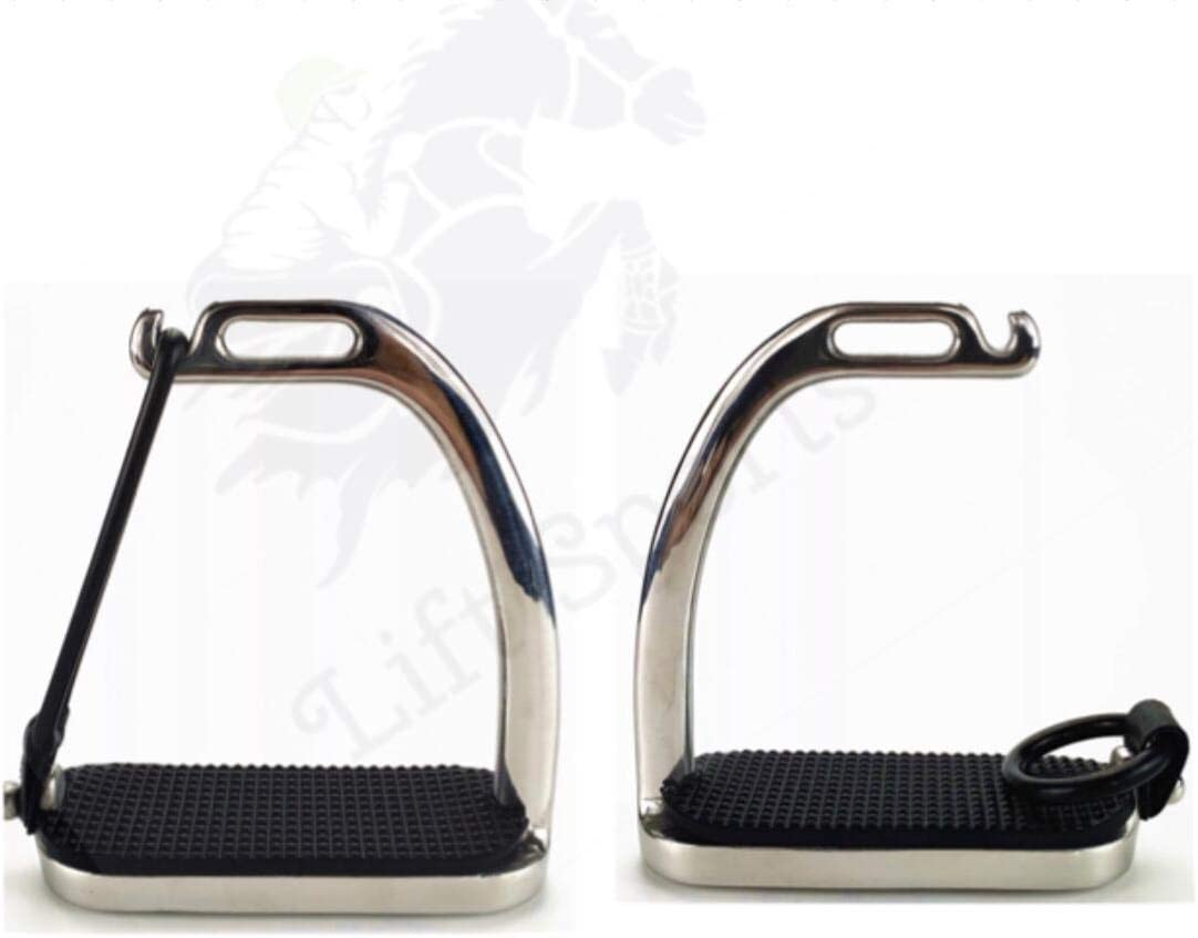 Lift Sports 4.75 4.50 4 Inch New Topics on TV life Safety Peacock Horse Riding Stirrup