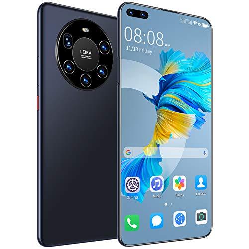 Air Purifiers Desbloquee el teléfono (4GB / 128GB), teléfono Inteligente Mate 40 Pro, Pantalla HD + de 6.8 Pulgadas, Batería 6000mAh, Android 10, teléfono Barato Dual SIM 4G