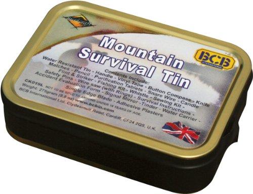 Bushcraft BCB - Kit di sopravvivenza da montagna, colore: bronzo
