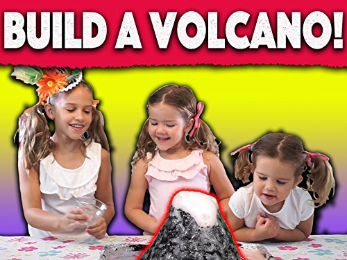 How to make a volcano at home!