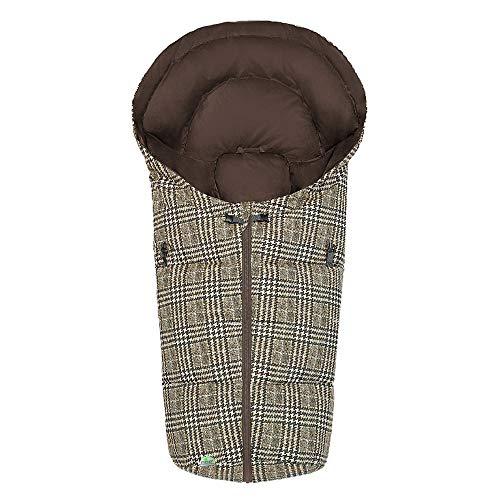 SALE ! Odenwälder Fußsäckchen DAUNI Daunen, passend für Schalensitze der Gruppe 0, Softragetaschen und Hartschalen