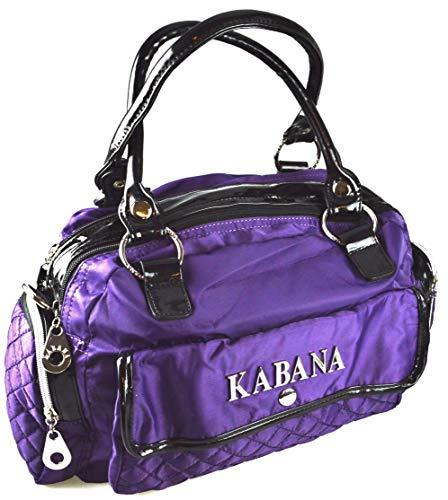 flevado Handtasche mit vielen Taschen Lila