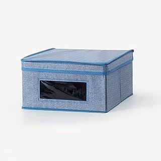 JZLRHOHO Boîte de Rangement - Cubes de Rangement en Tissu - Idéal pour Le Rangement de vêtements - Bacs de Rangement en To...