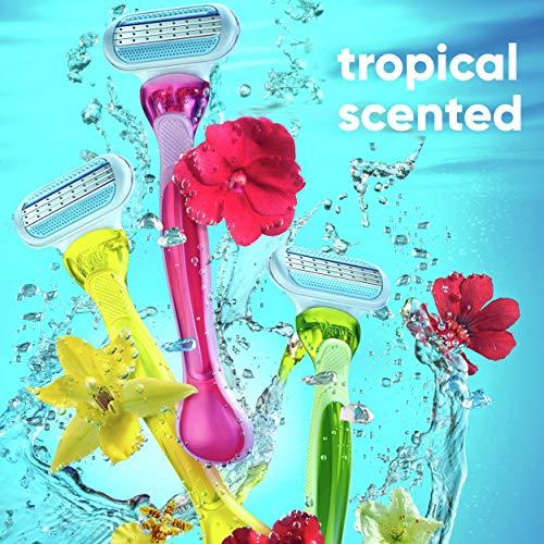 Gillette Venus Tropical Women's Disposable Razor - Single Package of 3 Razors