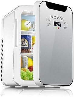 Novhome Mini Frigo 20L Chambre Silencieux AC/DC 12V 75W Affichage numérique Congelateur de Voiture Portable Réfrigérateur ...