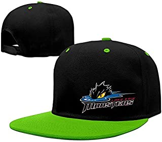 YTTUWS Adult Lake Erie Monsters Cool Adjustable Snapback Hip-Hop Baseball Cap