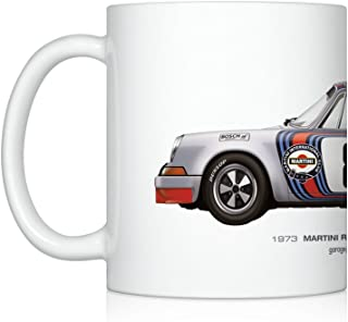 GarageProject101 1973 Martini Racing (Targa Florio) illustration Coffee Mug