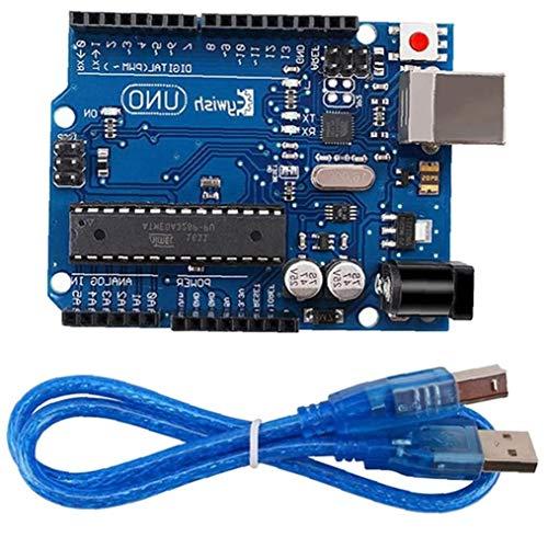 ZYCX123 UNO R3 für Arduino MEGA328P ATMega16U2 1pcs UNO R3 Entwicklungs-Board/Kabel Industrieverbrauchsgut