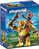 PLAYMOBIL- Trol Gigante con Mochila Enano Juguete, Multicolor (geobra Brandstätter 9343)