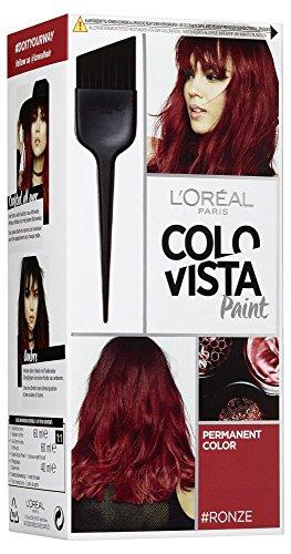 L'Oréal Paris Colovista Permanent Paint #RONZE, dauerhafte Haarfarbe, mit hochkonzentrierten Farbpigmenten und neu definierten Reflexen, #DOITYOURWAY