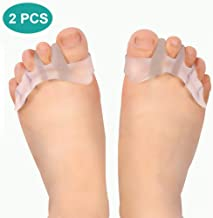 Gel Toe Stretcher and Toe Separator for Bunion Corrrector, Hallux Valgus, Hammer Toe, Foot Straightener Spacer for Women and Men