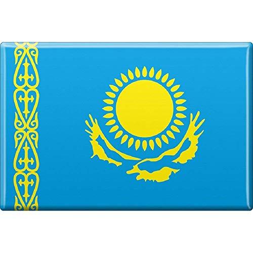 Kühlschrankmagnet - Länderflagge Kasachstan - Gr.ca. 8x5,5 cm - 38058 - Magnet