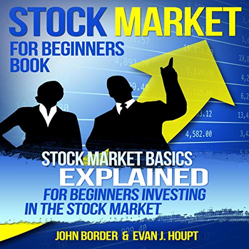Stock Market for Beginners Book cover art