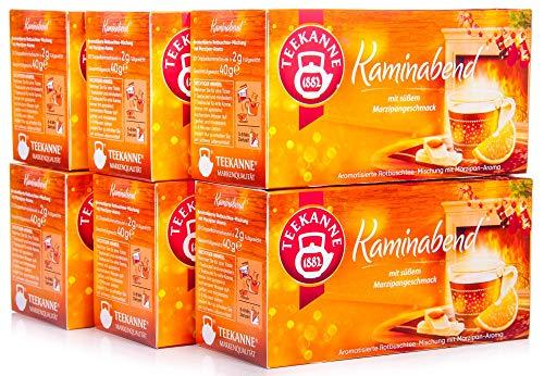 Teekanne Kaminabend 6er Pack