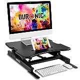 Duronic DM05D18 Estación de Trabajo para Monitor con Altura Ajustable de 15 a...