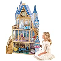 KidKraft Disney Princess Cinderella Royal Dreams Dollhouse with Furniture