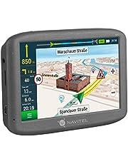 Navitel E200TMC GPS navigatiesysteem (5 inch/EU 15 kaarten liftime-updates gratis, TMC/POI/flitswaarschuwing/spraakgids/spoorassistent)