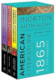 The Norton Anthology of American Literature - 3 volume set : C D & E