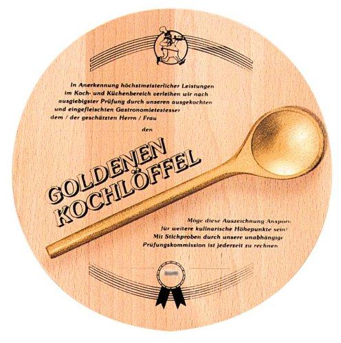 Goldener Kochlöffel