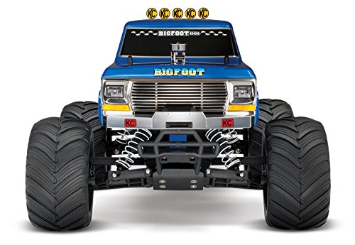 RC Auto kaufen Monstertruck Bild 3: Traxxas Bigfoot No.1 Brushed 1:10 RC Modellauto Elektro Monstertruck Heckantrieb RtR 2,4 GHz*