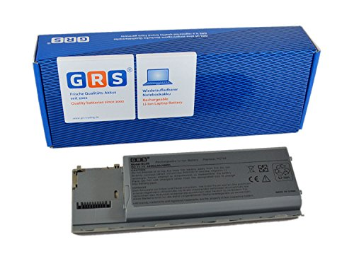 GRS Batterie pour Dell Latitude D620, D630, D631, Precision M2300, remplacé: 310-9080, 312-0383, 312-0653, 451-10298, JD634, NT379, PC764, Laptop Batterie 4400mAh, 11.1V