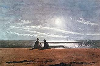 Posterazzi Moonlight 1874 Poster Print by Winslow Homer (20 x 28)