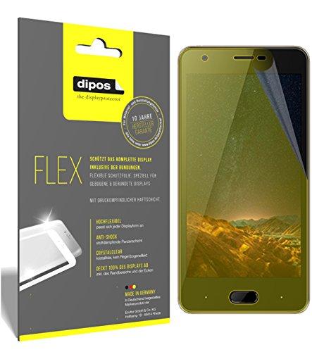 dipos I 3X Schutzfolie 100prozent kompatibel mit Doogee X20L Folie (Vollständige Bildschirmabdeckung) Bildschirmschutzfolie