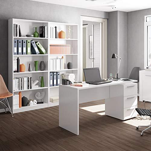 Habitdesign 005626A - Estantería de Oficina Alta, estanteria ...