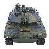 FastUU Tanques de Combate RC, Control Remoto inalámbrico Coches Control Remoto Vehículos Militares Camión Giratorio 3D, con Sonido y luz, Control Remoto, USB Recargable, para niños, niñas, Adultos