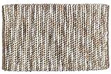 Hochwertige Badematte, absolut fusselfrei Schwere Qualität aus 70% Polyester und 30% Baumwolle Trendiger Mélange-Effekt mit aufregender Gewebestruktur in Taupetönen Hohe Feuchtigkeitsaufnahme, bis zu 40 °C waschbar, rutschhemmend Maße (B x H): 90 x 6...