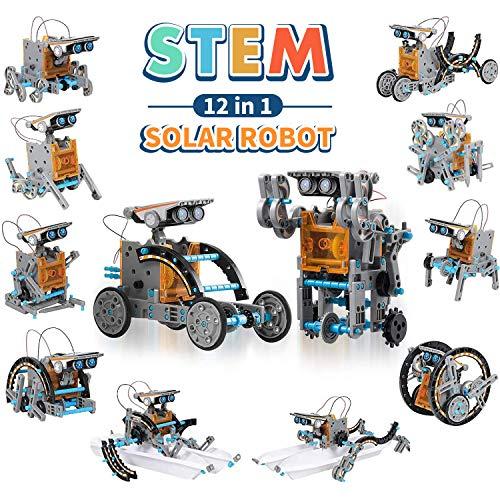 CIRO STEM 12-be-1 Training Robot Solar Kit Stem Toys 190 pièces Kit de recherche ...