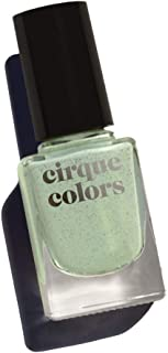 Cirque Colors Speckled Nail Polish - Paloma - 0.37 fl. oz. (11 ml) - Vegan, Cruelty-Free, Non-Toxic Formula (Sage Green)