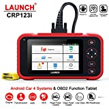 LAUNCH CRP123i OBD2 Scanner Car Code Reader for Engine ABS SRS Transmission Universal Diagnostic Tool with AUTO-VIN Battery Voltage Test One-Click WiFi Update Android System Scanning Tool