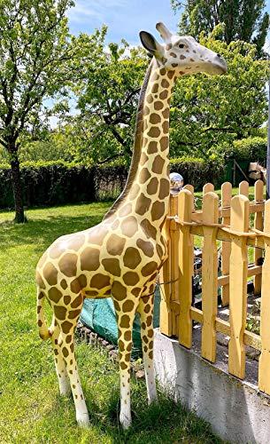 XXL GR. Baby Giraffe~LEBENSGROSS 190cm~WILD~Garten Premium DEKO~GARTENDEKORATION