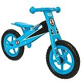 Bicicleta de equilibrio de madera para niños BOPPI - Azul Racing -