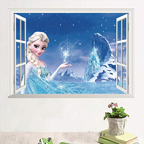 Kibi Stickers Infantiles Frozen Adhesivos Pared Decorativos Pegatinas De Pared Frozen Para...