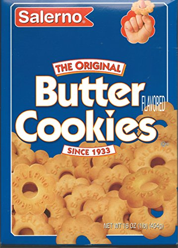 butter snack cookies Salerno Butter Cookies