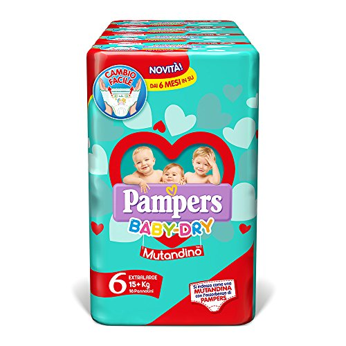 Pampers Baby Dry Maxi Taglia 6