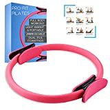 Pilates Magic Circle, Pilates Ring, Muscle Stimulator for Weight Loss and Toning - Home Gym Exercise...