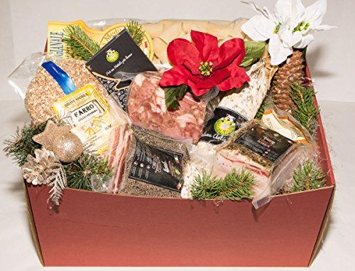 Scatola Natalizia la Toscana 1 - Salumificio Artigianale Gombitelli - Scatole Natalizie Collezione 2019